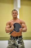 Russian strongman Stock Photos
