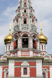 Russian Style Church in Shipka, Bulgaria Stock Photography