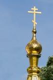 Russian Style Church in Shipka, Bulgaria Royalty Free Stock Photography