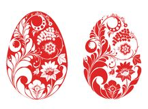Russian style eggs Stock Images