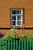 Russian style house Stock Photo