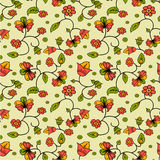 Russian style seamless background Royalty Free Stock Image