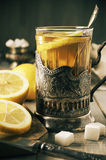 Russian style tea Stock Photography