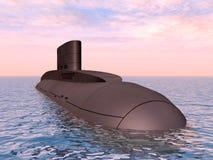 Russian Submarine Royalty Free Stock Image