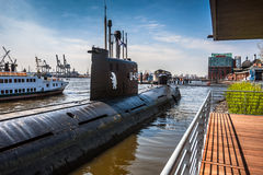 A Russian submarine Royalty Free Stock Image