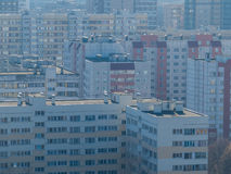 Russian suburb Stock Images