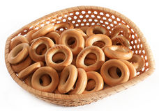Russian sushki crisps Stock Images