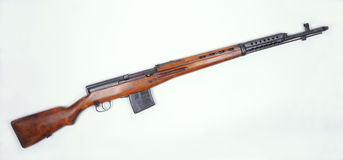 Russian SVT M1940 rifle Royalty Free Stock Images