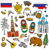 Russian symbols, travel Russia, Russian traditions. Stock Photography