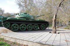 A Russian T54 tank Royalty Free Stock Photo