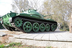 A Russian T54 tank Royalty Free Stock Image