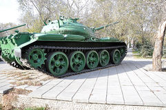 A Russian T54 tank Royalty Free Stock Photography