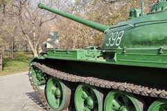 A Russian T54 tank Royalty Free Stock Photos