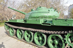 A Russian T54 tank Royalty Free Stock Images