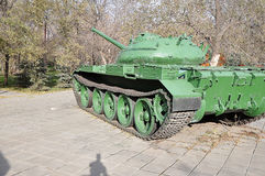 A Russian T54 tank Stock Photography