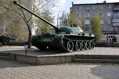 A Russian T54 tank Stock Photos