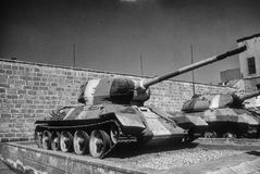 Russian T34 tank Stock Images