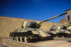Russian T34 tank Royalty Free Stock Images
