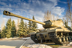 Russian T44 Tank Stock Photography
