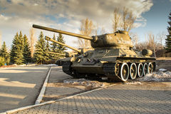 Russian T34 Tank Stock Photos