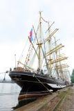 Russian tall ship Kruzenshtern Royalty Free Stock Image