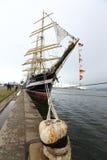 Russian tall ship Kruzenshtern Stock Photography