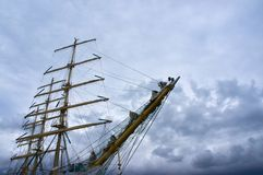 Russian tall ship STS MIR Stock Photos