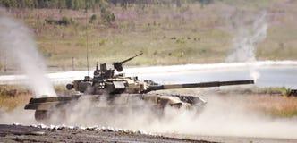 Russian tank Royalty Free Stock Photo