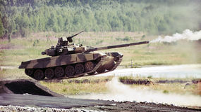 Russian tank Stock Photos
