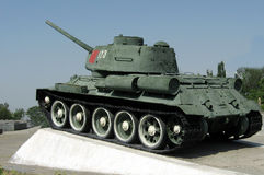 Russian Tank Royalty Free Stock Image