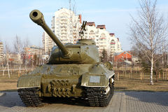 Russian tank Royalty Free Stock Photos