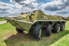 Russian tank BRT-60 Royalty Free Stock Photo