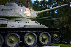 Russian tank (panzer) T-34 Royalty Free Stock Images