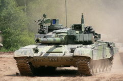 Russian tank T-72 Royalty Free Stock Photo