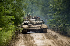 Russian tank T-90 Stock Photography