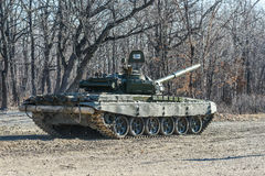 Russian tank T-72 Stock Photo
