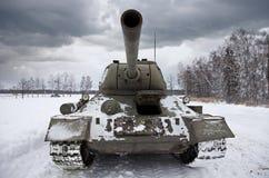 Russian Tank T34. Legendary Russian Tank T34 under a dramatic sky Stock Image