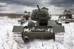 Russian Tanks Royalty Free Stock Photo