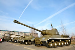Russian tanks Royalty Free Stock Photos