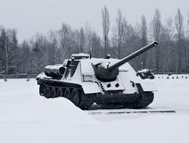 Russian  Tanks Stock Photo