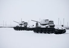 Russian  Tanks Stock Photos