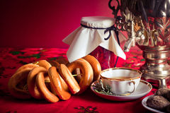 Russian tea Royalty Free Stock Images