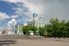 Russian temple Royalty Free Stock Images
