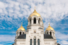 Russian Temple Royalty Free Stock Photography