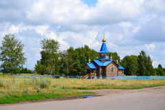 Russian temples Stock Images