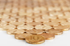 Russian ten-coin Stock Photos