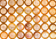 Russian ten ruble collectible coins Stock Photo