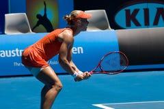 Russian tennis player Elena Dementieva Stock Photo