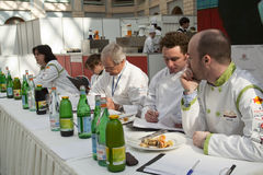 Russian tour of Bocuse d'Or royalty free stock photo