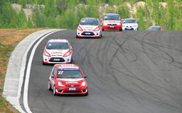 Russian Touring Car Championship Royalty Free Stock Image